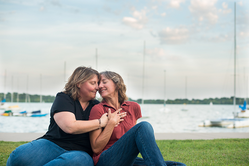 Lake Harriet Lesbian Engagement