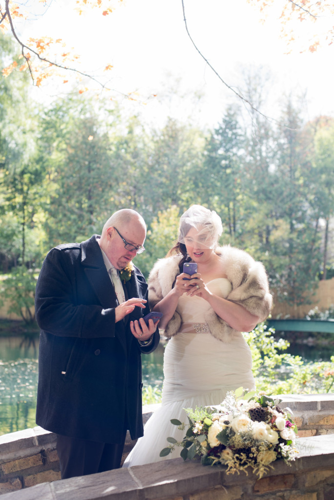 Lindsey and Chris's unicorn themed fall wedding in MN
