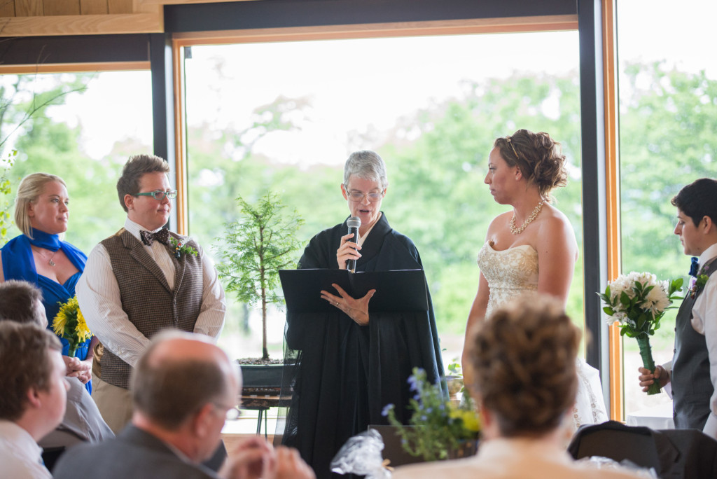 Jessica and Meghan's Buddhist wedding at scenic Spring Lake Park Reserve
