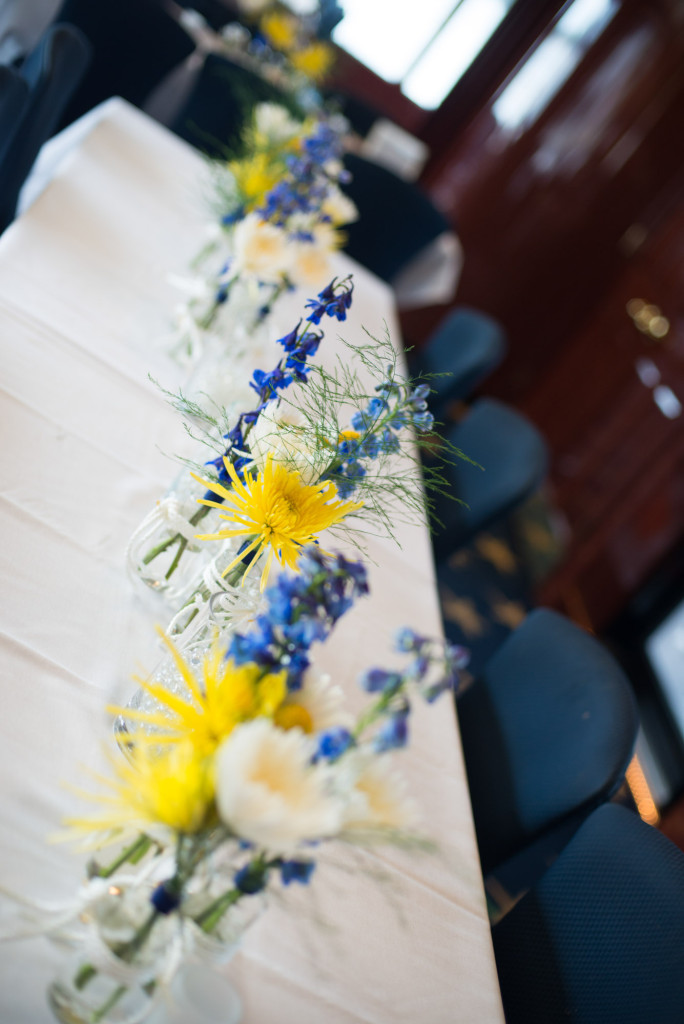 Gigi and Matt's nautical wedding on Lake Minnetonka