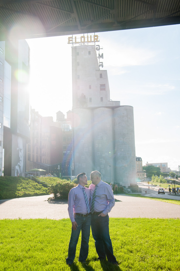 Arthur and James's summer engagement at The Guthrie