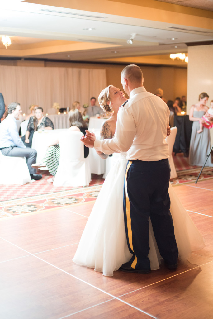 Karissa and Nate's military wedding in Minneapolis, MN
