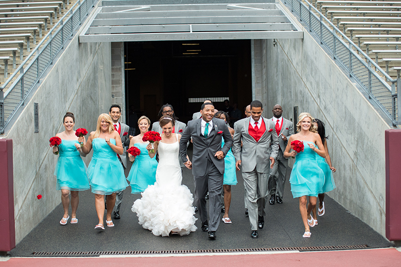 Wedding Photography at TCF Football Stadium